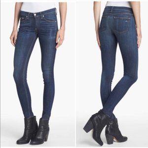 RAG & BONE Clean Charin Skinny Mid Rise Jeans